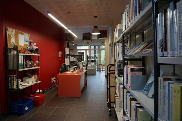 Réouverture de la bibliothèque
