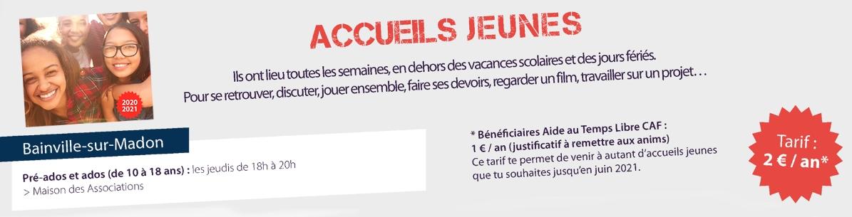 Accueil Jeunes (10-18 ans)