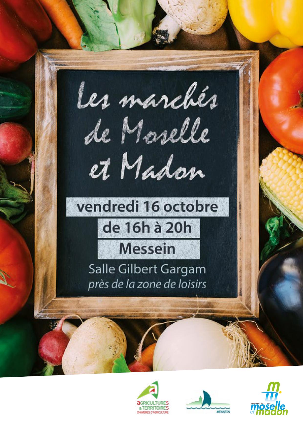 Premier marché des producteurs locaux de Moselle & Madon