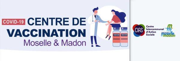 Centre de vaccination contre la Covi-19 à Neuves-Maisons