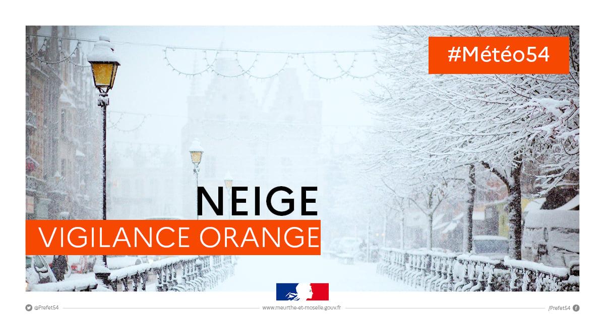 Vigilance orange pour des chutes de neige