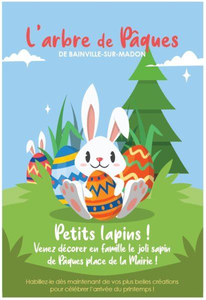 L'Arbre de Pâques… venez décorer le sapin !