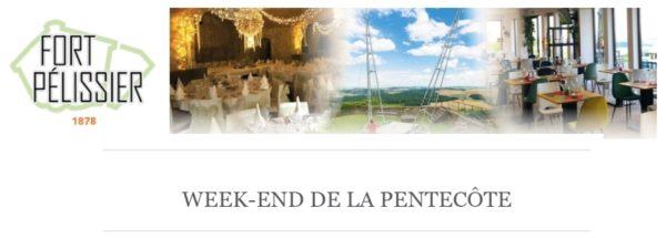 Week-end de la Pentecôte au Fort Pélissier