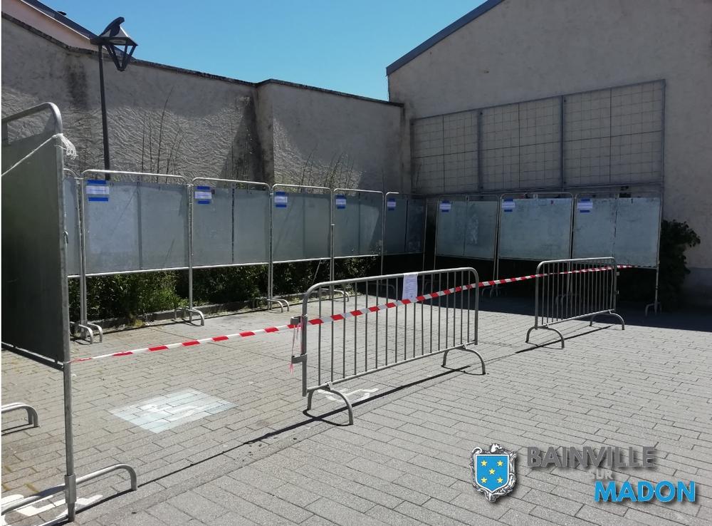 Elections : le parking de la salle des fêtes est indisponible !