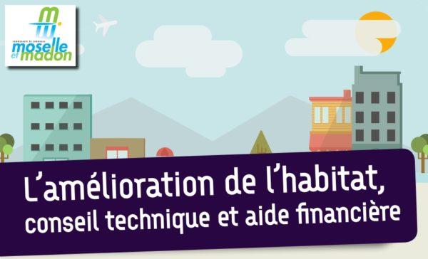Amélioration de l'habitat : conseil technique et aide financière avec la Communauté de Communes Moselle et Madon