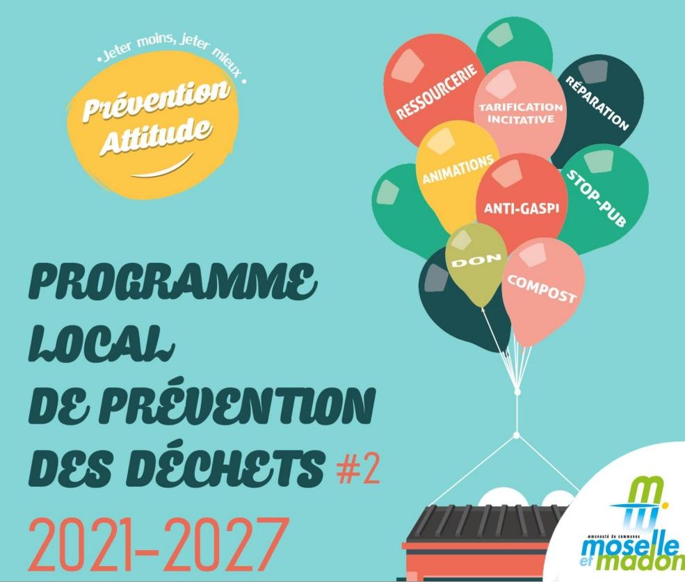 Programme local de prévention des déchets 2021-2027