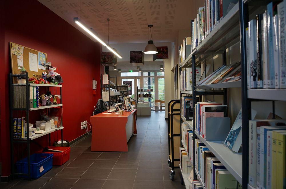 La bibliothèque de Bainville, ouverte tout l'été !