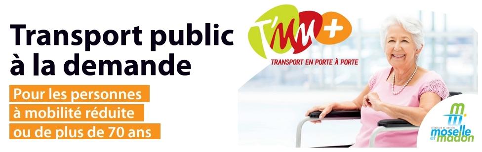 Transport public à la demande pour les personnes à mobilité réduite ou de plus de 70 ans