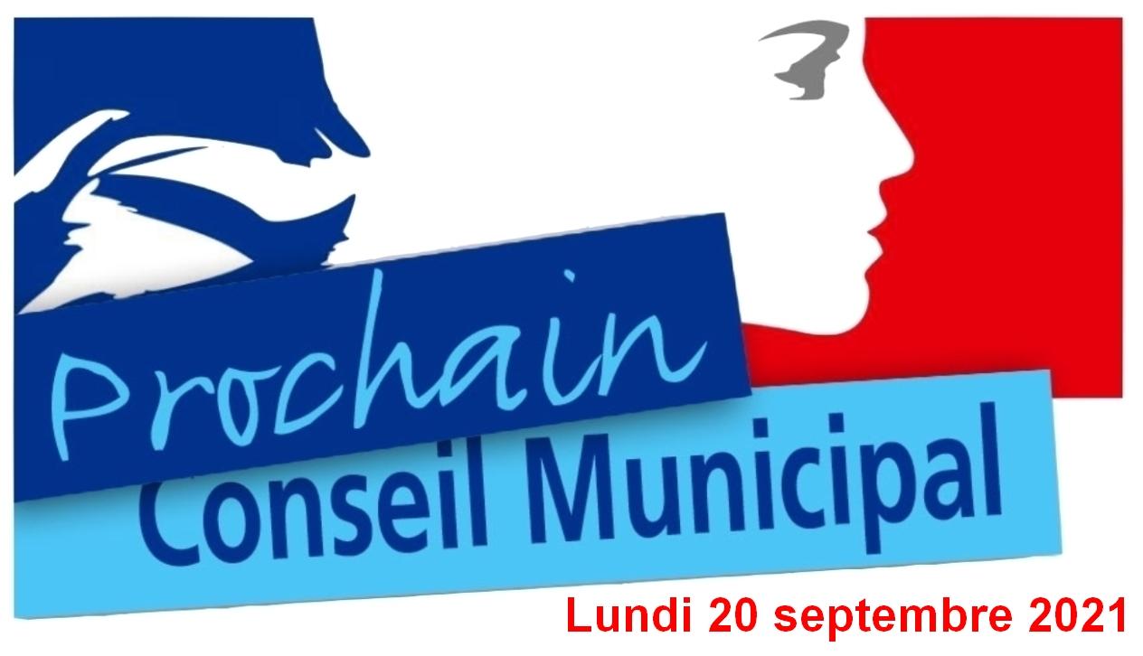 Conseil municipal du 20 septembre 2021