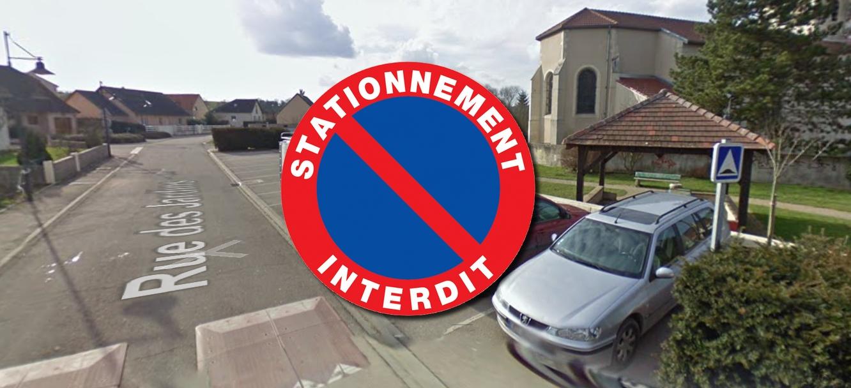 Arrêté portant sur l'interdiction de stationnement et de circulation !